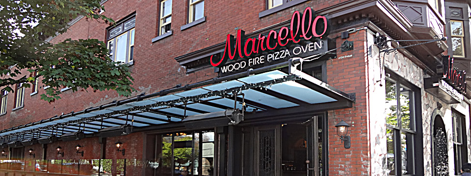 Buildout of Patio Area, and Reno of Marcello Pizzeria & Ristorante by Paramount Projects
