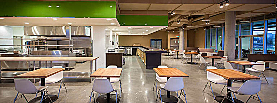Fortius Sport & Health Cafeteria build out by Paramount Projects General Contractors